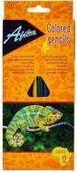 Олівці кольорові Animal World E11515 12 шт. Economix