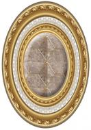 Плитка El Molino Классик Оро Медальйон 14x10 .