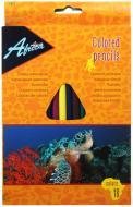 Олівці кольорові Animal World E11524 18 шт. Economix