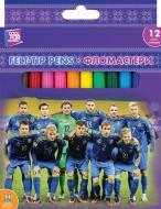 Фломастери Football FF01136 12 шт. Cool For School