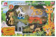 Набор игровых фигурок Dingua Зверюшки Африки в коробке 6 штук (6508214)