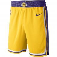 Шорти Nike LAL M NK SWGMN SHORT ROAD AJ5617-728 р. 2XL жовтий