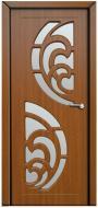Дверне полотно Неман Прибой ПО 800 мм дуб золотий