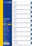 Розділювач А4 10 розділів E30803 Economix