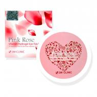 Патчи 3w Clinic Pink Rose Vitamin Hydrogel Eye Patch (SW000001)