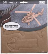 3D-пазл вертоліт 15x15