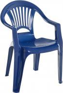 Стілець пластиковий Алеана Луч 78x58x56 см синій