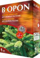 Добриво мінеральне BIOPON осіннє для хвойних рослин 1 кг