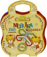 Набір для занять мозаїкою Тигрес 260 елементів 39113