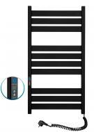 Рушникосушарка електрична NAVIN Largo 500х1000 Digital права (чорний муар) (12-244052-5010)