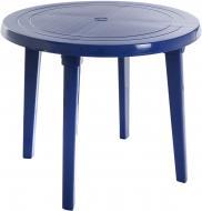 Стіл пластиковий Алеана 90x90 см синій