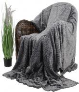 Плед Flannel Plush 200x220 см графіт La Nuit