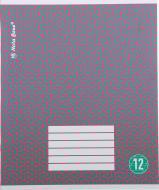 Зошит Nota Bene 2_2019 в косу лінію 12 аркушів Nota Bene