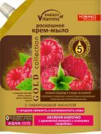 Крем-мыло Energy of Vitamins Овсяное молочко с ароматной малиной и листьями смородины 450 мл