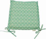 Подушка на стілець Ажур Тіффані з вушками 40x40 см Прованс Классик