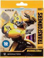 Фломастери Transformers BambleBee 12 шт. TF19-047 KITE