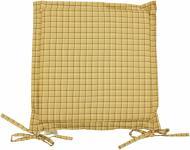 Подушка на стілець Квіти Лаванда з вушками 40x40 см Прованс Классик