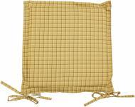 Подушка на стілець Квіти Тіффані з вушками 40x40 см Прованс Классик