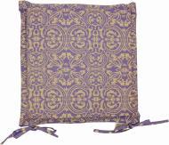 Подушка на стілець Фреска Лаванда з вушками 40x40 см Прованс Классик