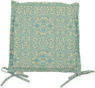 Подушка на стілець Фреска Тіффані з вушками 40x40 см Прованс Классик