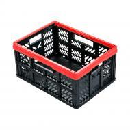 Контейнер для зберігання пластиковий Keeper 0221.3 «EKO-Klappbox» 32 л червоний 230x470x340 мм