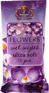 Вологі серветки Eco Relax Flowers 15 шт.