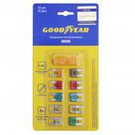 Запобіжники Goodyear прапорцеві «міні» 10 шт. + екстрактор GY003051