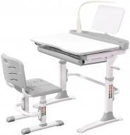 Комплект стол и стул Evo-kids Evo-19 G (с лампой) серый