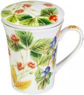 Чашка с заварником Лесные ягоды 330 мл 24-198-044 Krauff
