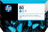 Друкуюча головка HP 80 + Cleaner C4821A cyan
