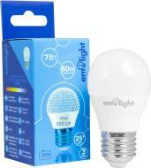 Лампа світлодіодна Emilight 7 Вт G45 матова E27 220 В 6500 К