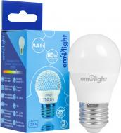 Лампа світлодіодна Emilight 9,5 Вт G45 матова E27 220 В 6500 К