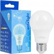 Лампа светодиодная Emilight 9 Вт A60 матовая E27 220 В 6500 К