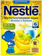 Каша молочная Nestle мультизлаковая с яблоком и бананом 4606272031269 200 г