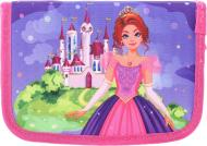 Пенал шкільний Принцеса 19,5x13x4 см різнокольоровий