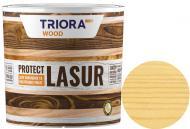 Лазурь Triora акриловая для древесины сосна шелковистый глянец 0,75 л