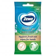 Антибактеріальні вологі серветки Zewa Fresh to Go Protect 10 шт.