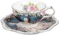 Чашка с блюдцем Маркиза 200 мл 127-583 Lefard