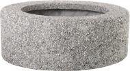 Вазон декорований гранітною крихтою Астра без дна 100x40 см