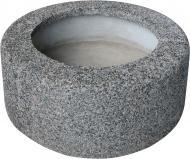 Вазон декорований гранітною крихтою Астра 100x40 см