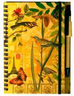 Блокнот з ручкою ЕКО 17,2x14см, 60 аркушів Пташки DASEN