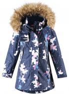 Куртка детская для девочки Reima Muhvi р.104 темно-синий 521562-6989
