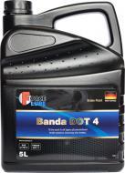 Гальмівна рідина Force Brake Fluid Banda DOT-4 5л (163600501)