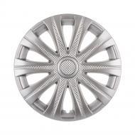 Ковпак для коліс STAR Mай R15 4 шт. срібний