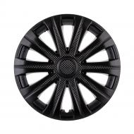 Колпак для колес STAR Май Black Gloss R14 4 шт. черный
