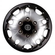 Колпак для колес STAR Мекадор+ 2000984833401 R14 4 шт. серебряный