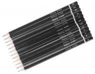 Набір олівців для креслення 12 шт різної твердості SK-9500-12 Skiper