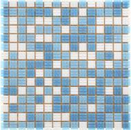 Плитка Guangzhou Glory Building Material Мозаїка блакитна 32,7x32,7