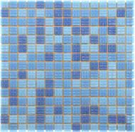 Плитка Value Ceramics Мозаїка темно-синій мікс CT22401 32,7x32,7