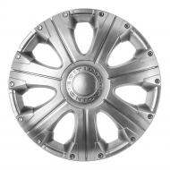 Колпак для колес STAR Расинг R14 4 шт. серебряный